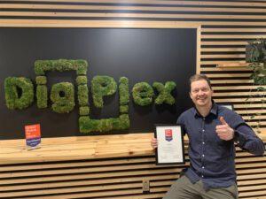 DigiPlex certifierade Great Place To Work® för andra året i rad